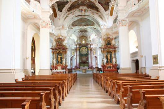 Kirche Beschallen, Kirchenschiff, Beschallungskonzept Beratung
